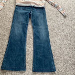 Citizens of humanity jeans high rise wide leg